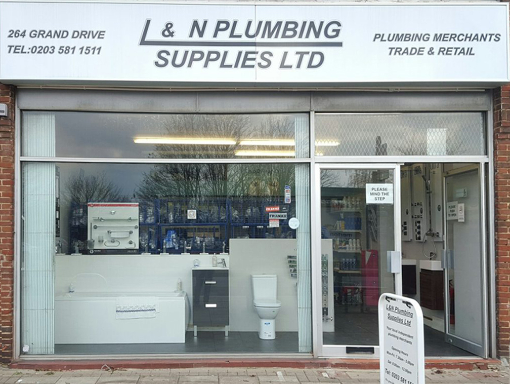 L & N Plumbing supplies - local independent plumbers merchant